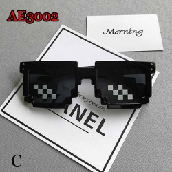 AE3002-31 3PCS/SET FUNNY COSPLAY SUNGLASSES WITH CIGAR AND GOLDEN NECKLACE