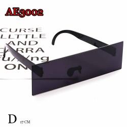 AE3002D FUNNY COSPLAY SUNGLASSES BLACK ANIME BLIND SUN GLASSES EYEWEAR FOR WOMEN MEN