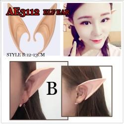 ANIMATION COSPLAY SOFT ELF EAR AE3112 (PAIRS)