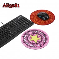 Anime Cosplay Card Captor Sakura mousepad Halloween Props AE3281