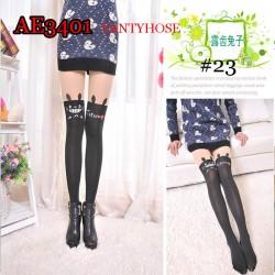 AE3401 Cute Anime Cartoon Girl Pantyhose, suitable for 155-170cm