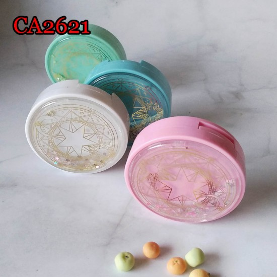 CA2621 CARD CAPTOR SAKURA FLASH QUICKSAND CONTACT LENS CASE