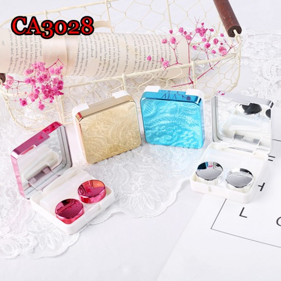 CA3028MIRROR COVER METAL QUALITY SQUARE CONTACT LENS