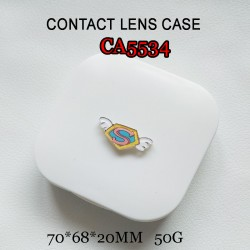CA5534 LITTLE CARTOON DECO COLORFUL CONTACT LENS CASE