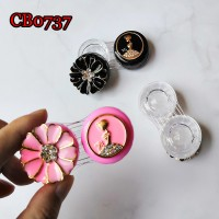 METAL FLOWER AND GIRL DECO CONTACT LENS DUALBOX CB0737
