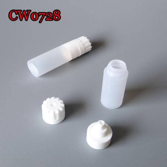 D-CW0728 LIQUID SOLUTION PLASTIC SMALL BOTTLE 4-5ML