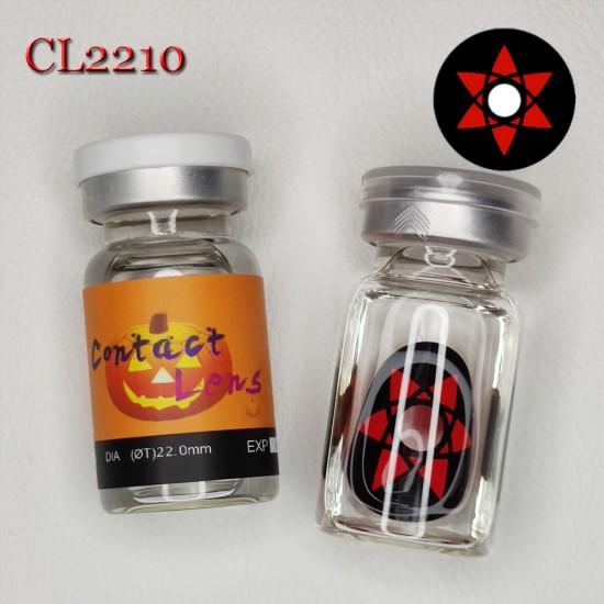 C-CL2210 SCLERA 22MM COLOR CONTACT LENS NARUTO SASUKI (2PCS/PAIR)