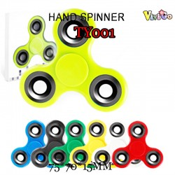 TY001 PURE COLOR 3-WHEEL HAND SPINNER