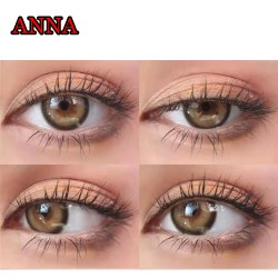 ANNA BROWN COLOR SOFT CONTACT LENS (2PCS/PAIR)