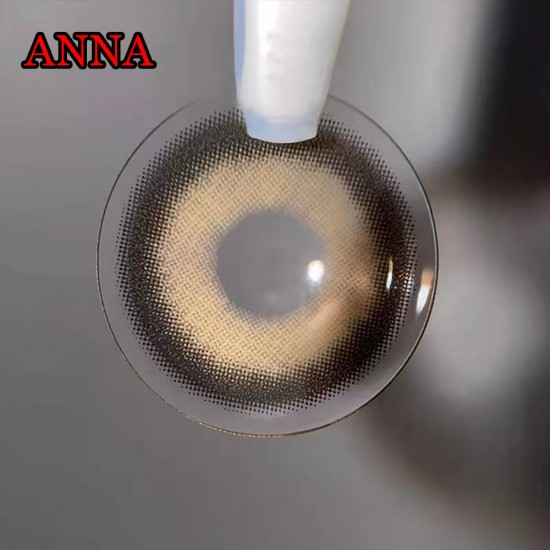 B-ANNA BROWN COLOR SOFT CONTACT LENS (2PCS/PAIR)
