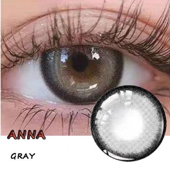 B-ANNA GRAY COLOR SOFT CONTACT LENS (2PCS/PAIR)