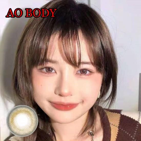Ao Body Brown Color Contact Lenses (2PCS/PAIR)