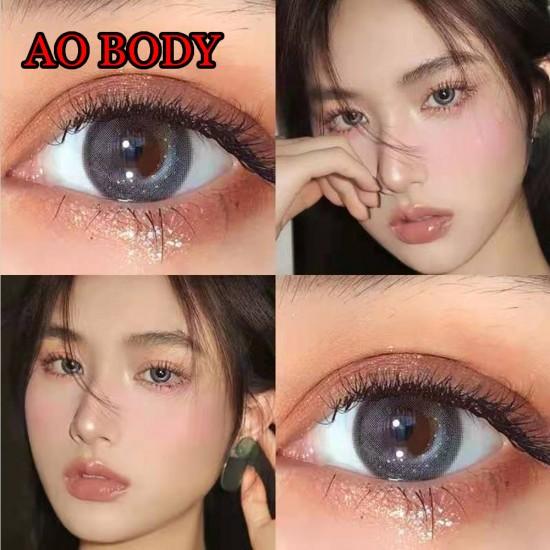 Ao Body Gray Color Contact Lenses (2PCS/PAIR)