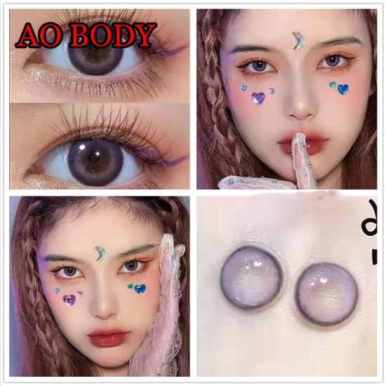 Ao Body Violet Color Contact Lenses (2PCS/PAIR)