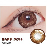 COLOR SOFT CONTACT LENS BARB DOLL BROWN (PAIR)