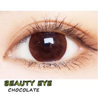 COLOR SOFT CONTACT LENS BEAUTY EYES  CHOCOLATE (PAIR)