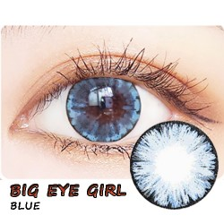 COLOR SOFT CONTACT LENS BIG EYE GIRL BLUE (PAIR)