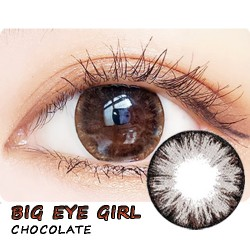 COLOR SOFT CONTACT LENS BIG EYE GIRL CHOCOLATE (PAIR)