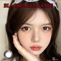 B-BLACKEAGLE LATTE COLOR CONTACT LENS (2PCS/PAIR)