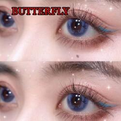 B-BUTTERFLY BLUE COLOR SOFT CONTACT LENS (2PCS/PAIR)