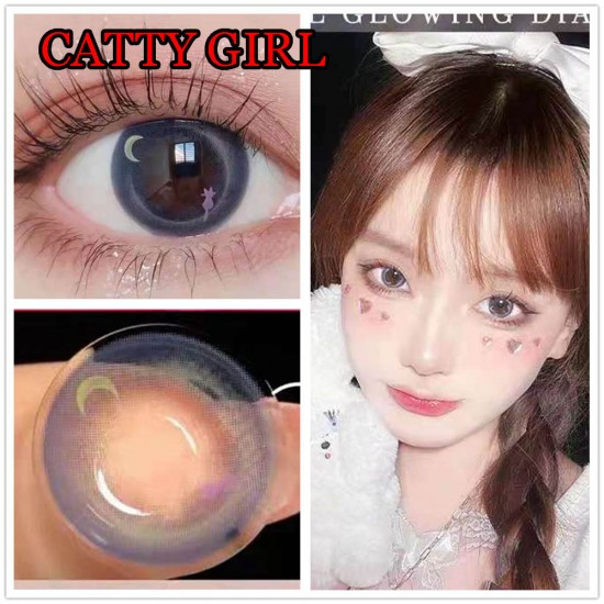 B-CATTY GIRL COLOR SOFT CONTACT LENS (2PCS/PAIR)