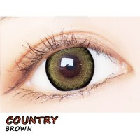 COLOR SOFT CONTACT LENS COUNTRY BROWN (PAIR)