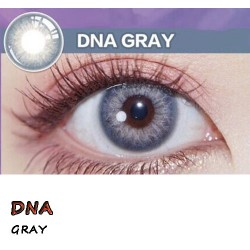 COLOR SOFT CONTACT LENS DNA GRAY (PAIR)