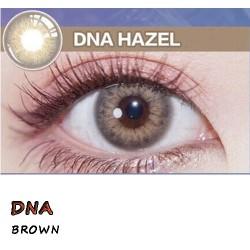 DNA BROWN HAZEL COLOR SOFT CONTACT LENS (2PCS/PAIR)