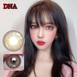 COLOR SOFT CONTACT LENS DNA BROWN (PAIR)
