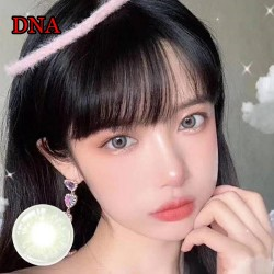 COLOR SOFT CONTACT LENS DNA GREEN (PAIR)