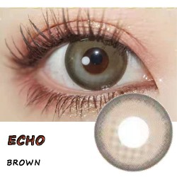 B-ECHO BROWN COLOR SOFT CONTACT LENS (2PCS/PAIR)