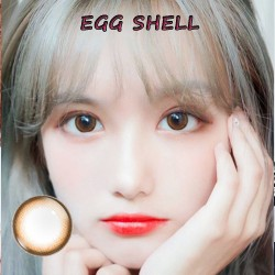 Color Contact Lens EGG SHELL (PAIR)
