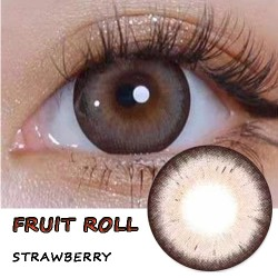 B-FRUIT ROLL STRAWBERRY COLOR CONTACT LENS (2PCS/PAIR)