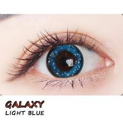 B-GALAXY LIGHT BLUE COLOR SOFT CONTACT LENS (2PCS/PAIR)