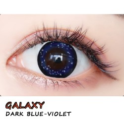 B-GALAXY VIOLET BLUE COLOR SOFT CONTACT LENS (2PCS/PAIR)