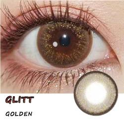 GLITT BLACK COLOR SOFT CONTACT LENS  (2PCS/PAIR)