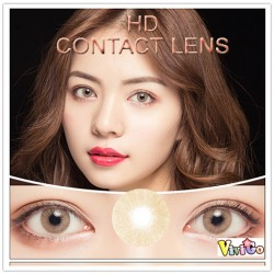 COLOR SOFT CONTACT LENS HD  BROWN (PAIR)