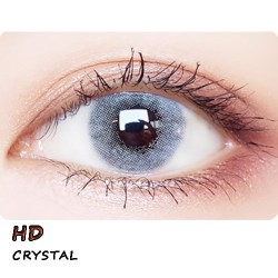 COLOR SOFT CONTACT LENS HD  CRYSTAL (PAIR)