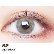 B-HD SKYGRAY COLOR SOFT CONTACT LENS (2PCS/PAIR)