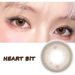 HEART BIT COLOR SOFT CONTACT LENS  (2PCS/PAIR)