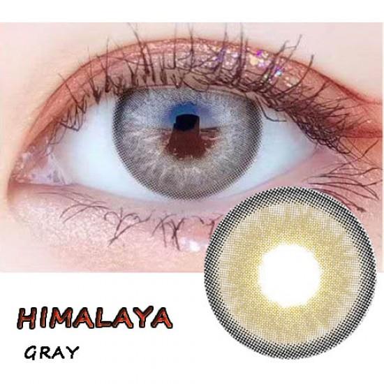 B-HIMALAYA GRAY COLOR CONTACT LENS (2PCS/PAIR)