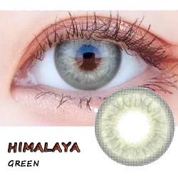 B-HIMALAYA GREEN COLOR CONTACT LENS (2PCS/PAIR)