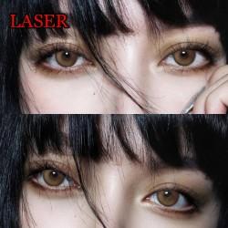 B-LASER BROWN COLOR SOFT CONTACT LENS (2PCS/PAIR)