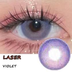 B-LASER VIOLET COLOR SOFT CONTACT LENS (2PCS/PAIR)