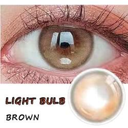 B-LITTLE BULB BROWN COLOR SOFT CONTACT LENS (2PCS/PAIR)
