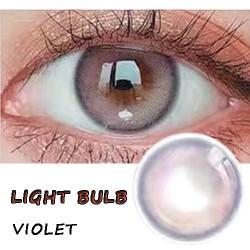 B-LITTLE BULB VIOLET COLOR SOFT CONTACT LENS(2PCS/PAIR)