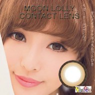 COLOR SOFT CONTACT LENS LOLLY BROWN (PAIR)