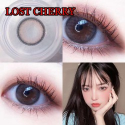 COLOR SOFT CONTACT LENS LOST CHERRY