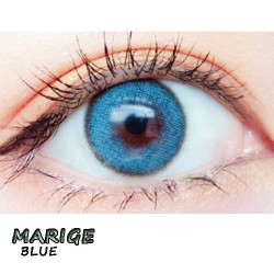 COLOR SOFT CONTACT LENS MARIGE BLUE (PAIR)