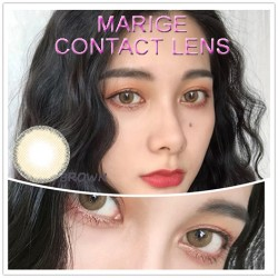COLOR SOFT CONTACT LENS MARIGE BROWN (PAIR)